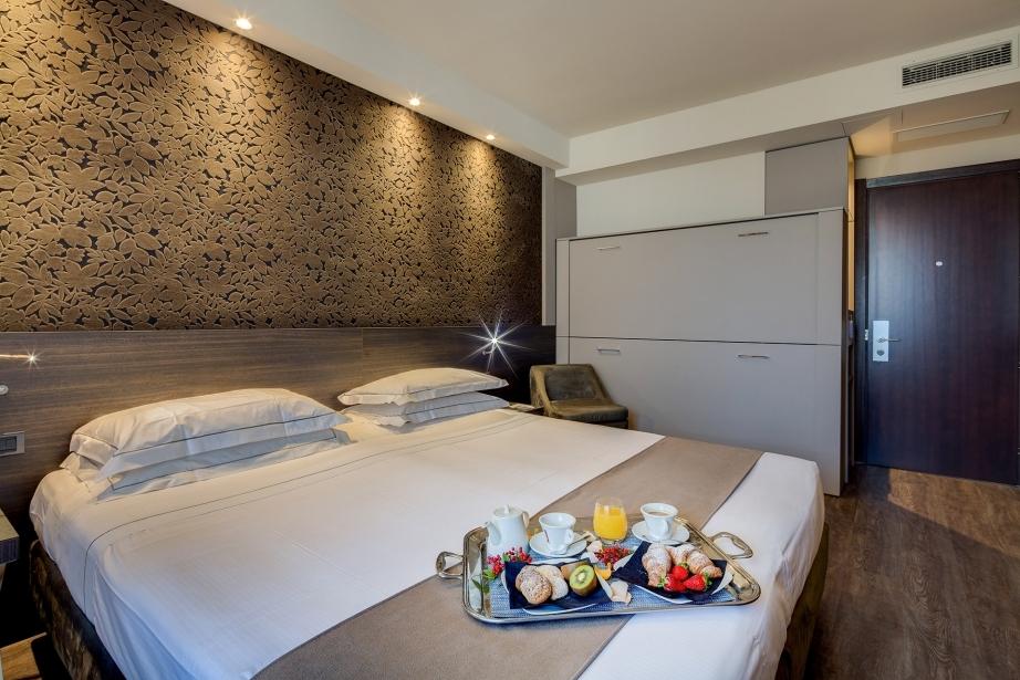Scopri le camere per famiglie del BW Plus Hotel Farnese