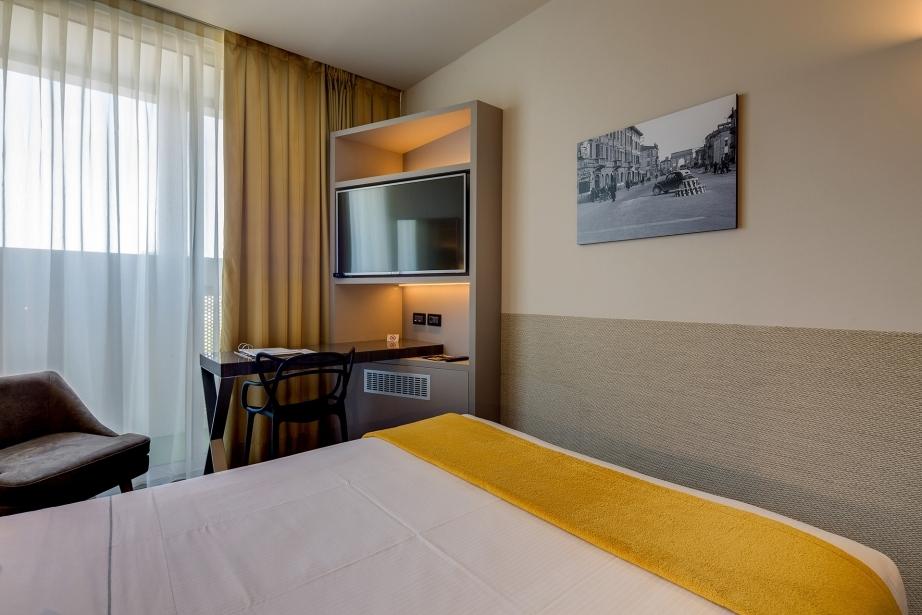 Il BW Plus Hotel Farnese offre comode e ampie camere