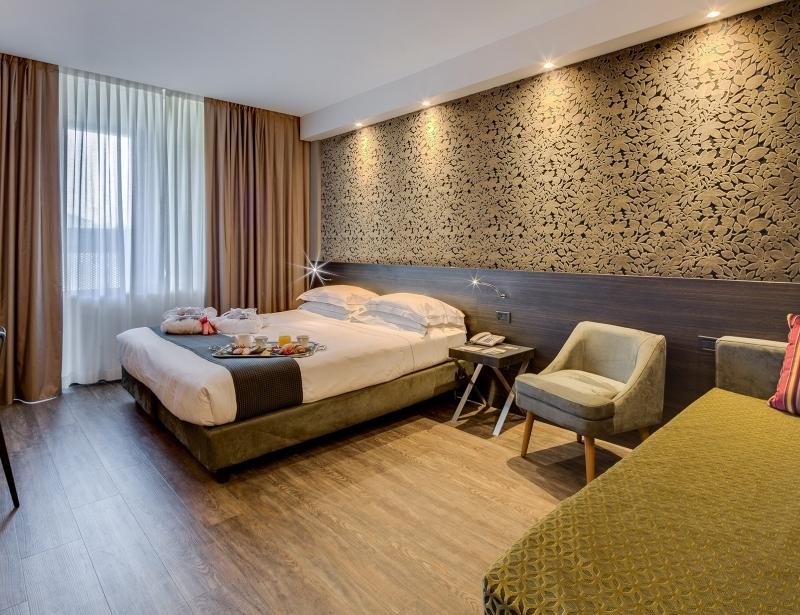 Comfort ed eleganza nelle camere del nostro hotel