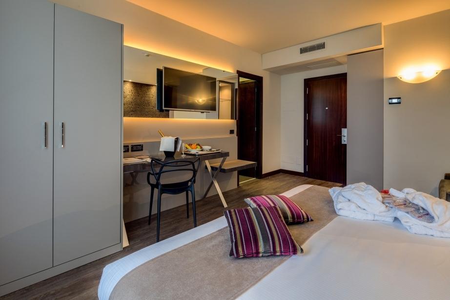 Tanti comfort nelle nostra camere superior a Parma