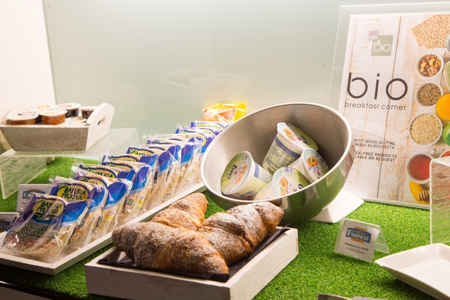 Prodotti biologici nel nostro buffet colazione