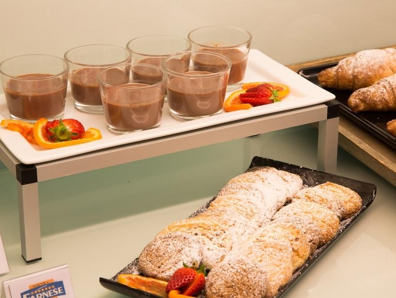 Colazione dolce al BW Plus Hotel Farnese