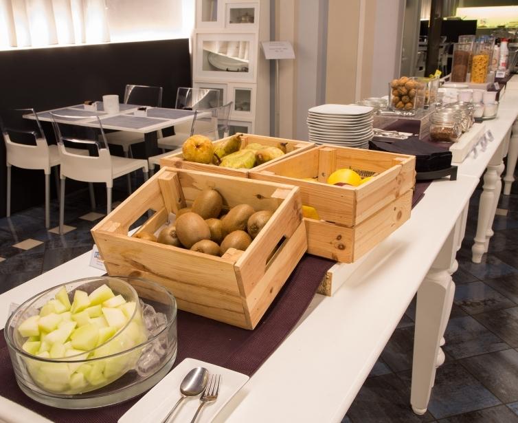 La colazione del nostro hotel a Parma
