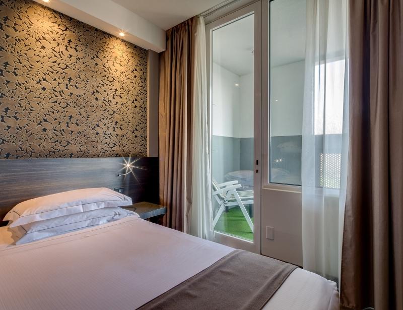 Rilassati nei balconi delle nostre camere a Parma