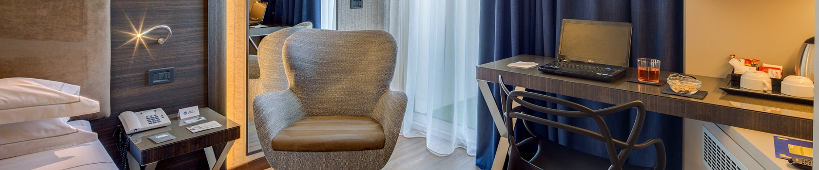 Tanti comfort nelle nostre camere a Parma