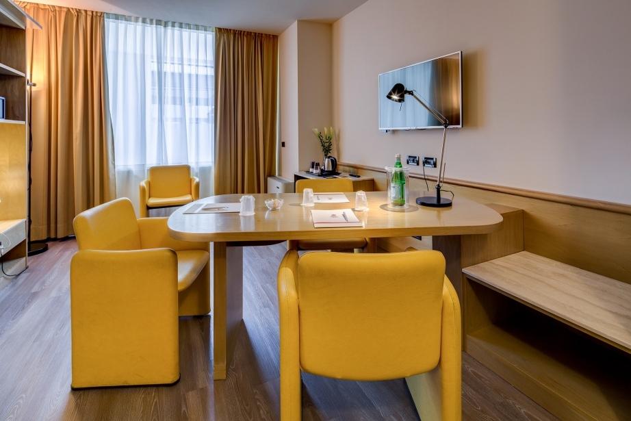 Stanze ad uso ufficio al BW Plus Hotel Farnese