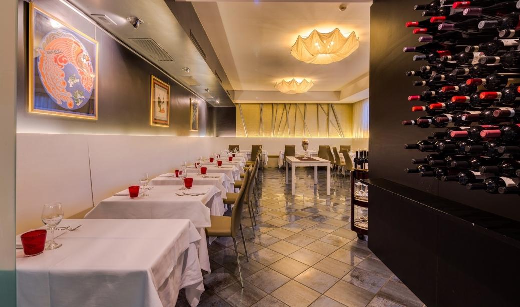 Prova le specialità del ristorante del BW Plus Hotel Farnese