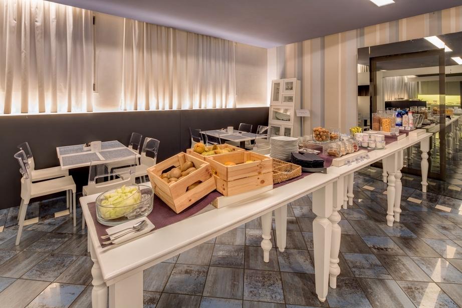 La colazione al BW Plus Hotel Farnese Parma