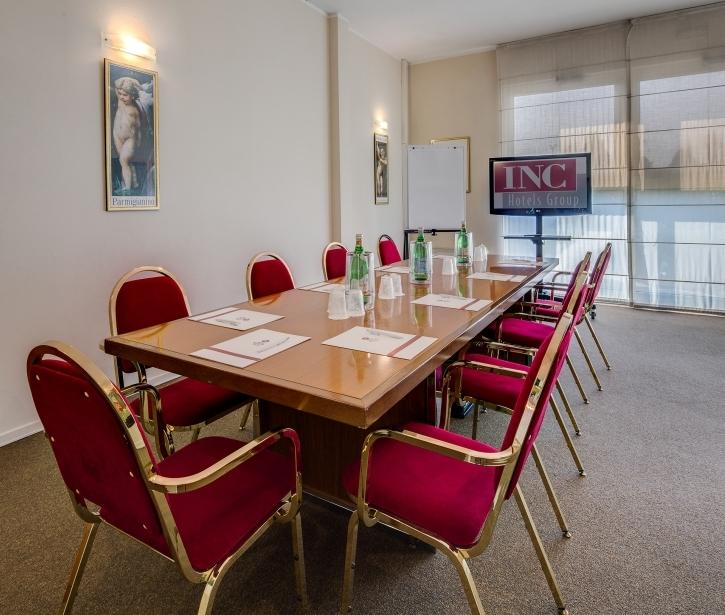 Scopri le sale meeting del BW Plus Hotel Farnese